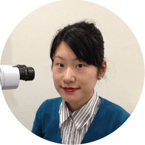 Optometrist Julie Jiao