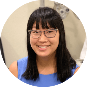 Portrait photo of optometrist VIcky Chang
